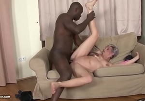 www.pornhdcam.com Shaved Pussy Waxed Ass Tiny Teen Fucked by Big Black