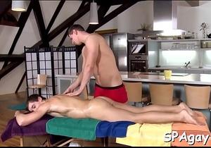 Wild sofa sex with homosexuals