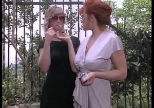 Vintage Redhead Lesbian Domination
