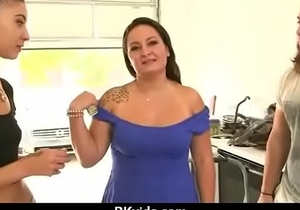 Sensual girl talked into having sex for cash 8