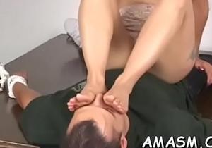 Intensive lesbo facesitting