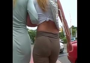 2 Big booty blonde milfs walking more at hotpornocams.com