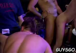 Horny homosexual guys on avid party