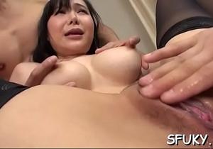 Cock sucking oriental bitch