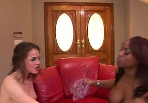 Daisy Marie &amp_ Ebony Babe Lesbian Experience