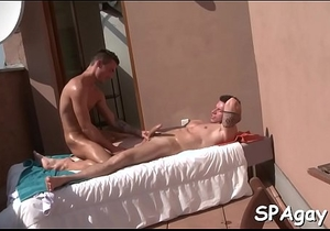 Explicit massage for homosexual