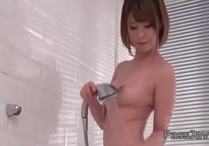 Minami Wakana amazes with solo masturbation&nbsp_