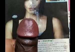 Cum tribute to sexy actress Shruthi hassan