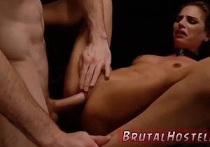 Bdsm anal pain and hentai hardcore bondage Two youthful sluts, Sydney