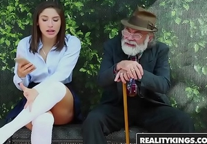 RealityKings - Teens Love Huge Cocks - (Abella Danger) - Bus Bench Creepin
