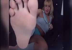 perfect gilf soles in face no sound