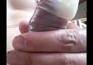 huge cum in condom