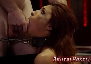 Kept as slave and anal bondage nurse Poor little Jade Jantzen, she