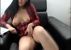 Horny girl juicy pussy masturbation